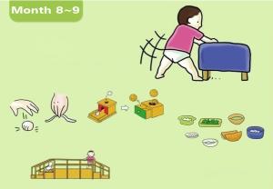 8-9 mois_Développement de bébé